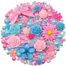 'BUBBLEGUM' Theme Rhinestone and Cabochon Mix